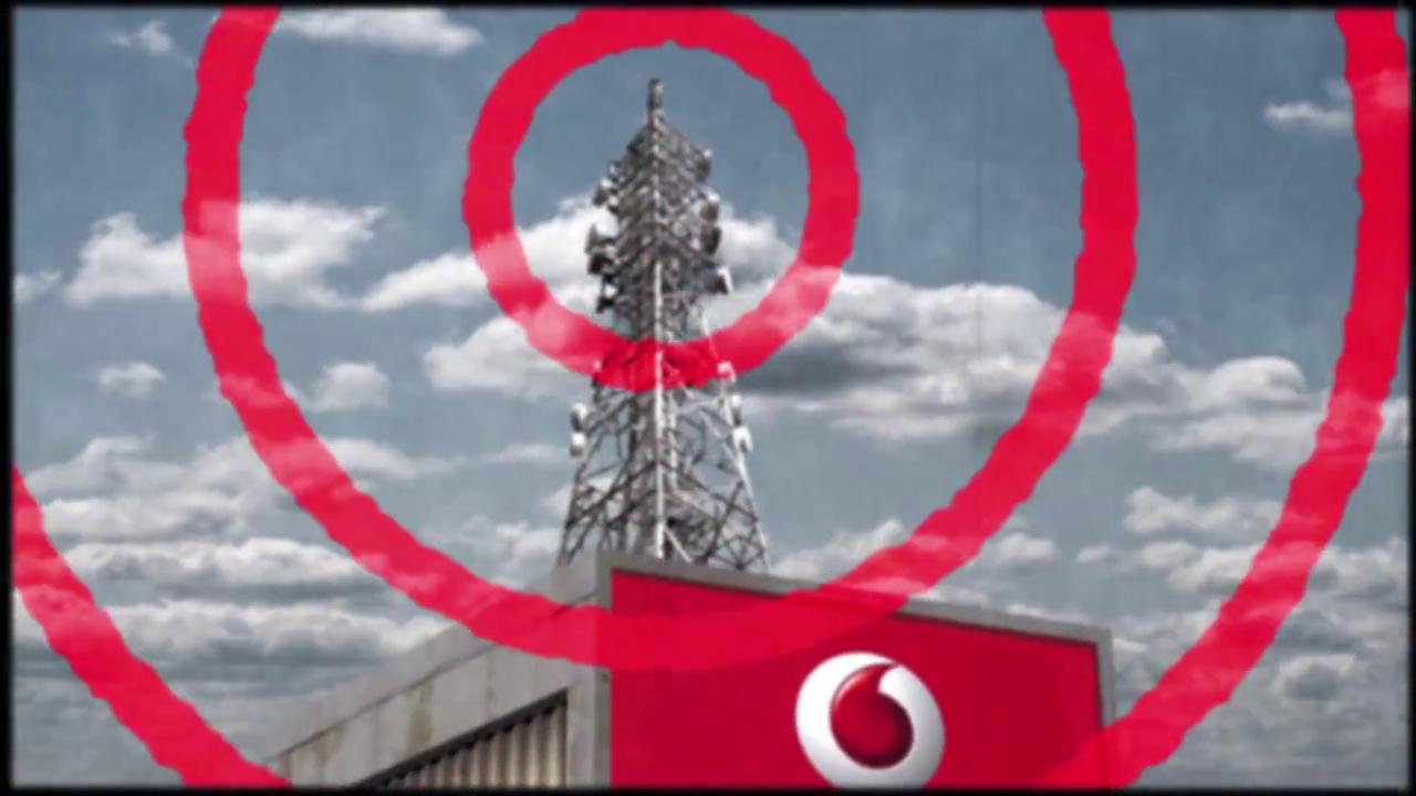 Vodafone Werbung Screenshot